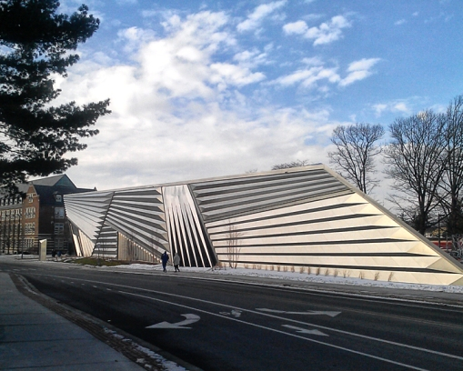 The Eli and Edythe Broad Museum - Michigan State University, East Lansing, Michigan.(©2013 by Richard X. Moore)
