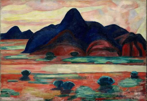 The Western Flame (Marsden Hartley, 1920)