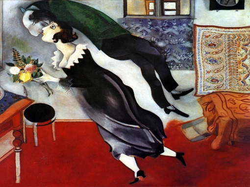 Birthday (Marc Chagall, 1915)