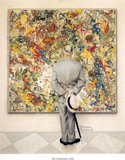 The Connoisseur (Norman Rockwell, 1962)