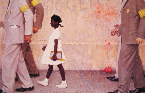 The Problem We All Live With (Norman Rockwell, 1964)